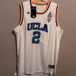 promo code bfe3f a1076 NWT Adidas Lonzo Ball 2XL XXL UCLA Jersey NWT